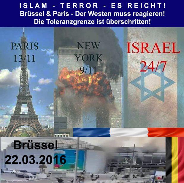 ISLAM TERROR in Brüssel und Paris ES REICHT! Der Westen muss reagieren! Die Toleranzgrenze ist überschritten!