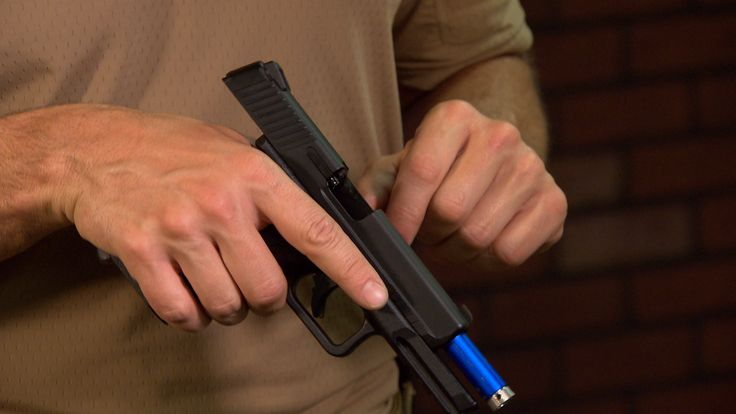 Don't pull the trigger of the gun to show the gun is clear! Rob Pincus explains his recommended procedure to unload and show clear.