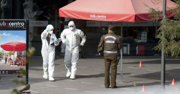 El Chevrolet Corsa indicado por el subsecretario Mahmud Aleuy como el automóvil empleado en el escape de dos sospechosos en el atentado terrorista de ayer se trataría de un vehículo involucrado en ...