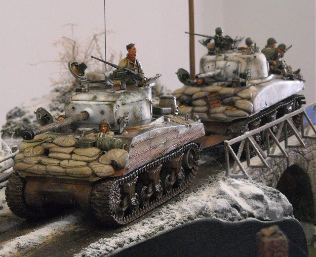 Military modelling 1/35 scale