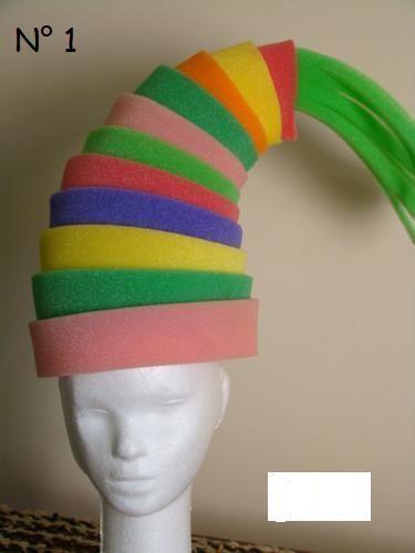 sombreros goma espuma - Buscar con Google