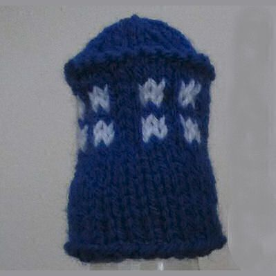 Innocent Smoothies Big Knit Hat Patterns - Tardis