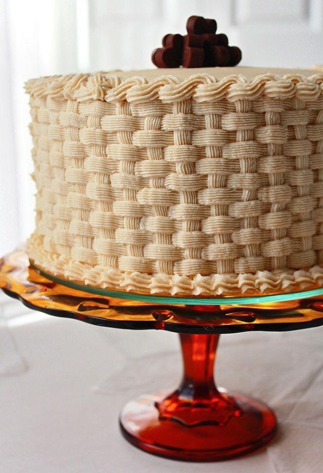 Basket Weaving A Cake : Ideas about basket weave cake on royal