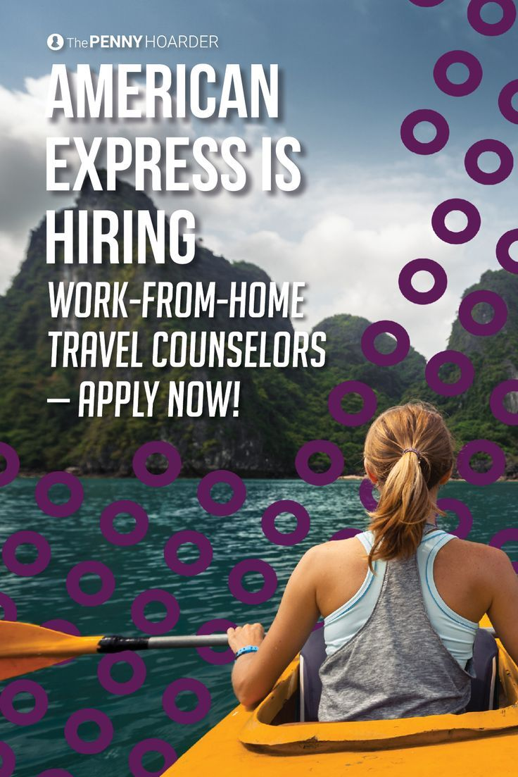 ouml ver bilder om work from home job leads p aring  are you a former travel agent looking to get back in the game these amex