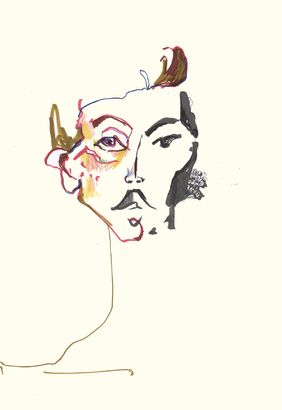 Valerie Servais — BA (Hons) Fashion Illustration by London College of Fashion