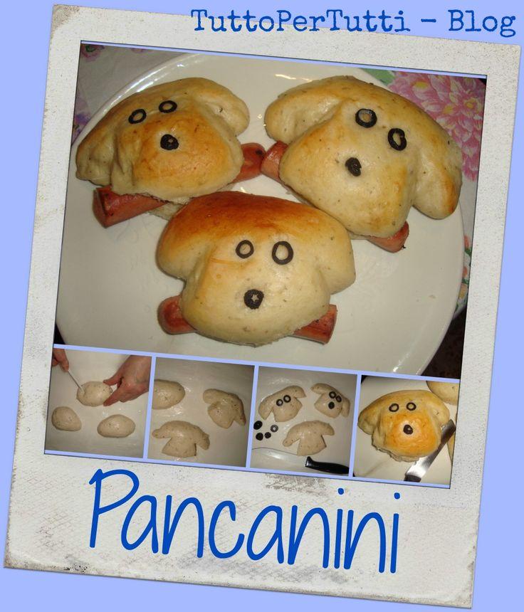 TuttoPerTutti: PANCANINI. Morbidissimi panini - cagnolini che faranno la felicità dei piccoli in tavola! http://tucc-per-tucc.blogspot.it/2015/04/pancanini.html