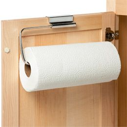 The Container Store > Stainless Steel Overcabinet Paper Towel Holder