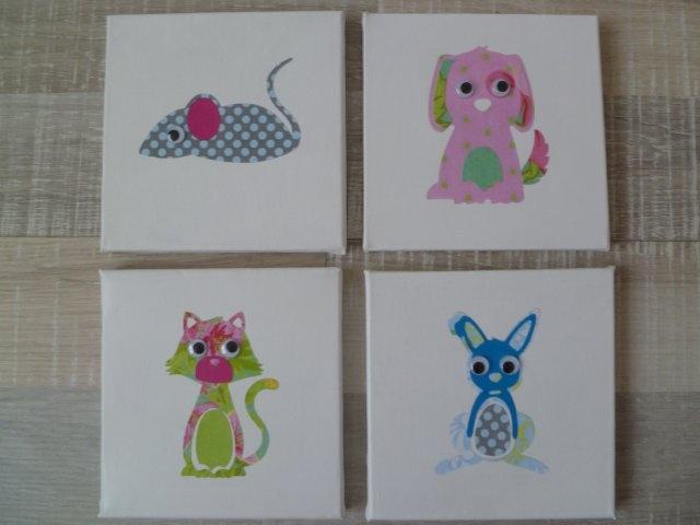 Marly Design: Eenvoudige kinderkamer kunst / Easy nursery art