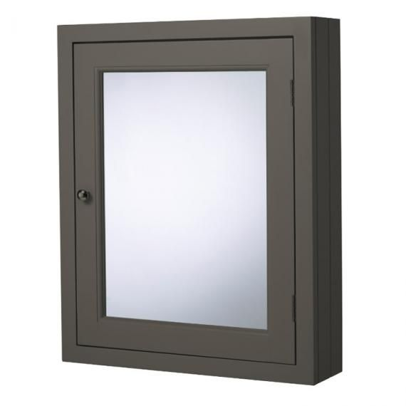 Roper Rhodes Hampton Pewter 565mm Mirrored Cabinet