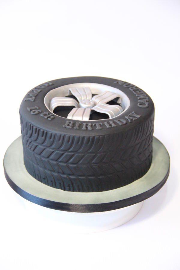 Tire cake - Cake by Cake Addict