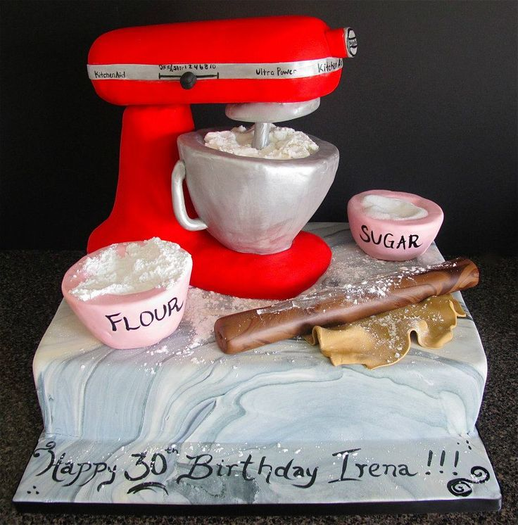 Kitchen Design Cake: 1000+ Images About Mixer Cakes On Pinterest
