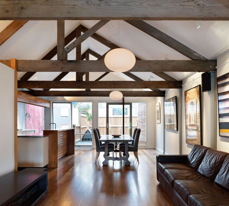 Collingwood Warehouse Conversion By Di Mase Architects BEAMS