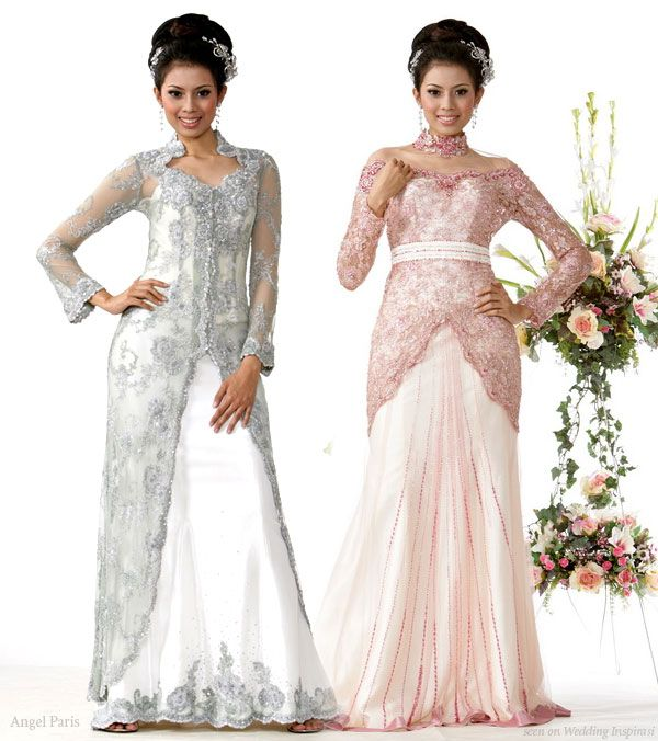 Angel Paris Indonesian Wedding Kebaya | Wedding Inspirasi