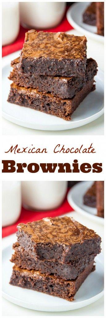 Spicy Dark Chocolate Brownies