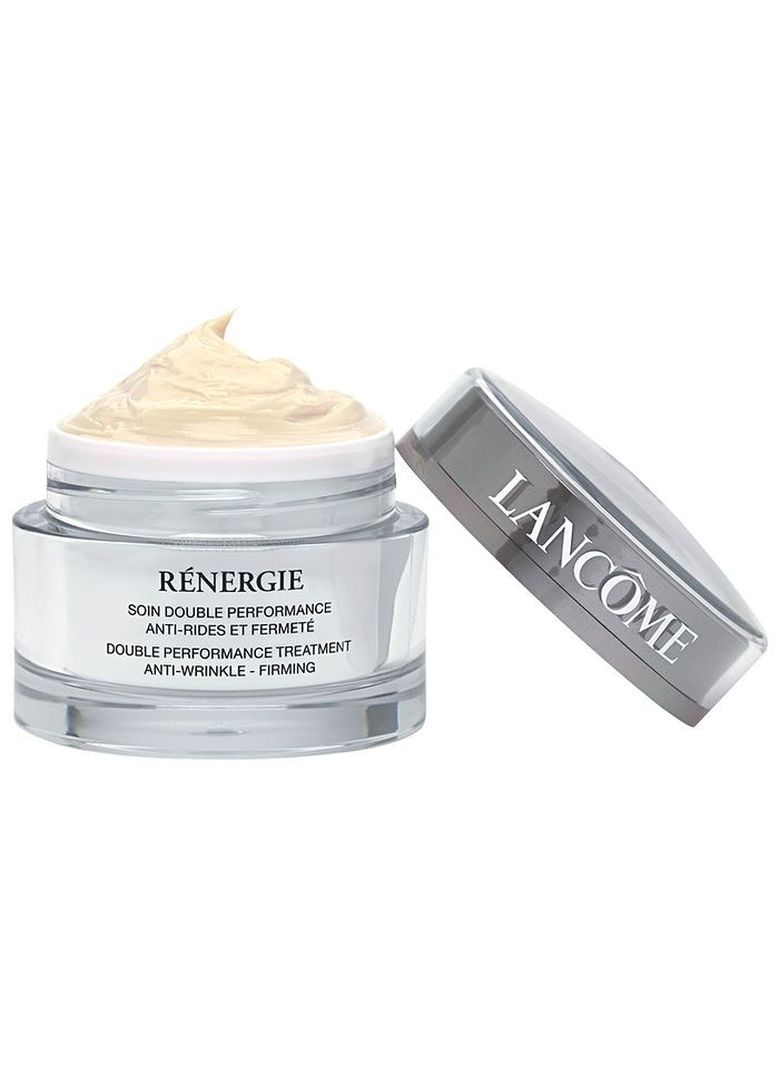 Lancome Renergie Double Performance Anti-Wrinkle + Firming at http://www.BeautyBoutique.com. Rediscover your skin's youthful strength, firmness and resilience! #lancomecream #antiwrinklecream #skincare #beautyboutique