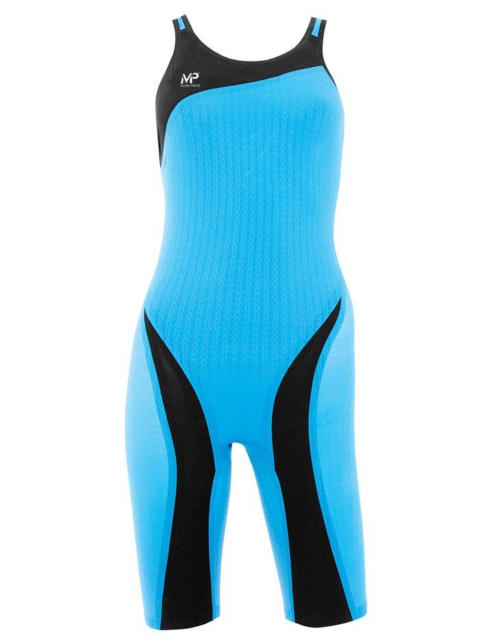 Michael Phelps XPRESSO Openback Kneeskin - Blue and Black | Simply Swim UK