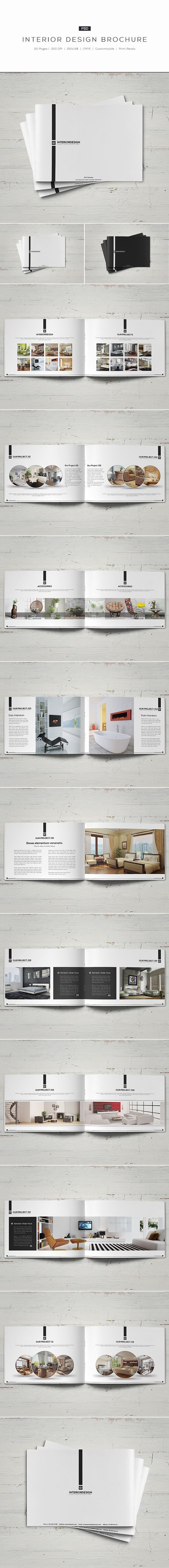 Interior Design Brochure on Behance: