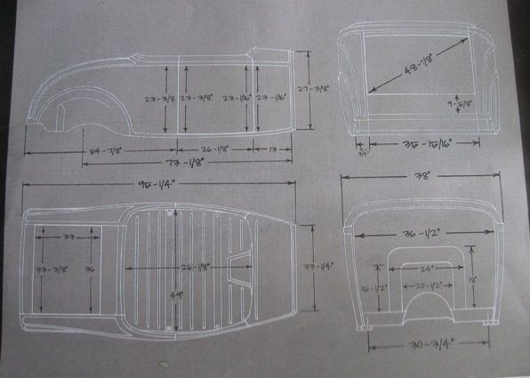 33 best 32 ford blueprints images on pinterest vintage cars 32 ford blueprint 5 malvernweather