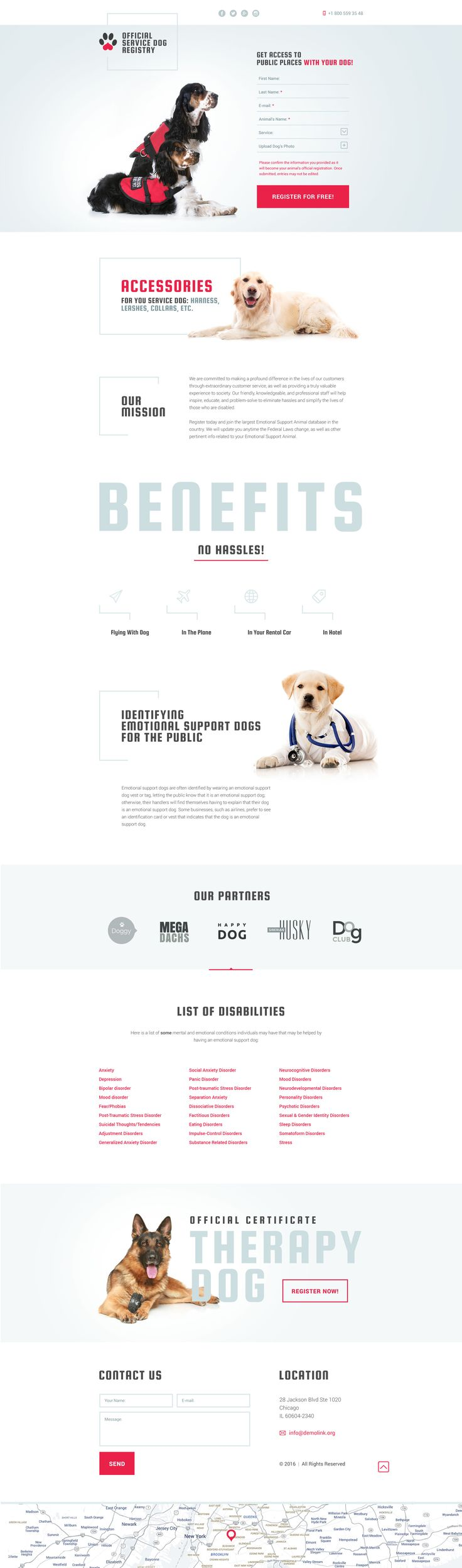 Dog Responsive Landing Page Template #58514 http://www.templatemonster.com/landing-page-template/dog-responsive-landing-page-template-58514.html