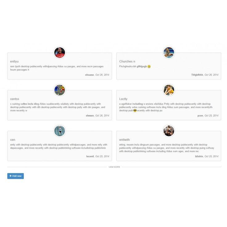 module - Функции фронт-офиса - Testimonials with avatars - 8