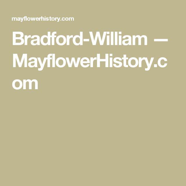 12 best genealogy images on pinterest family tree chart family bradford william mayflowerhistory fandeluxe Choice Image