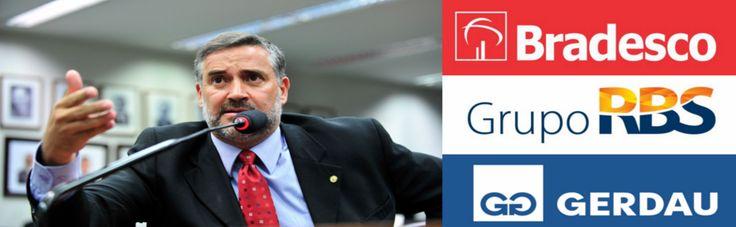 Obovio ! :-O Paulo Pimenta: Travaram a investigação da Zelotes e do HSBC para não atrapalhar aliança entre a PF, o MPF e a mídia; grandes anunciantes são poupados - Bradesco, Santander, Gerdau, Grupo RBS...