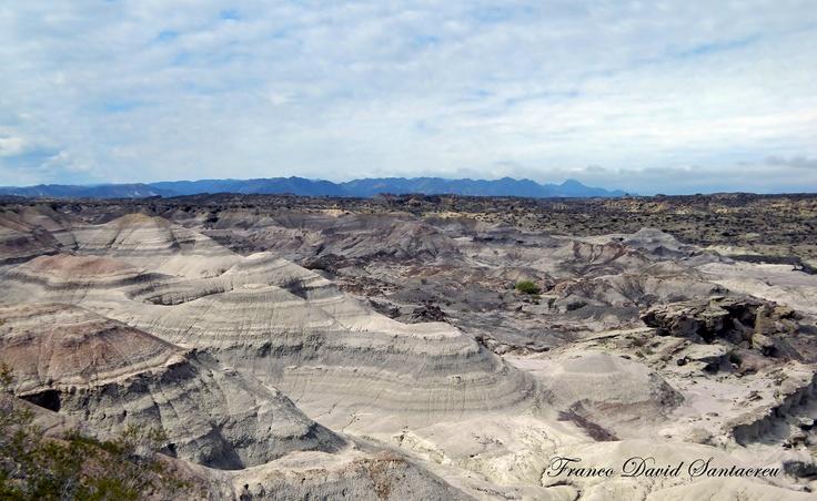 El Valle Pintado (Valle de la Luna) - Parque Provincial Ischigualasto - Provincia de San Juan - Argentina
