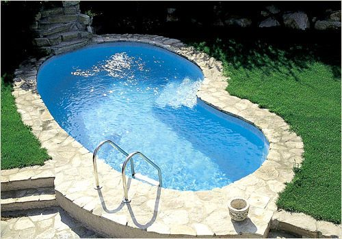 Inground One Piece Swimming Pool Fiberglass Mdp 670 Mon