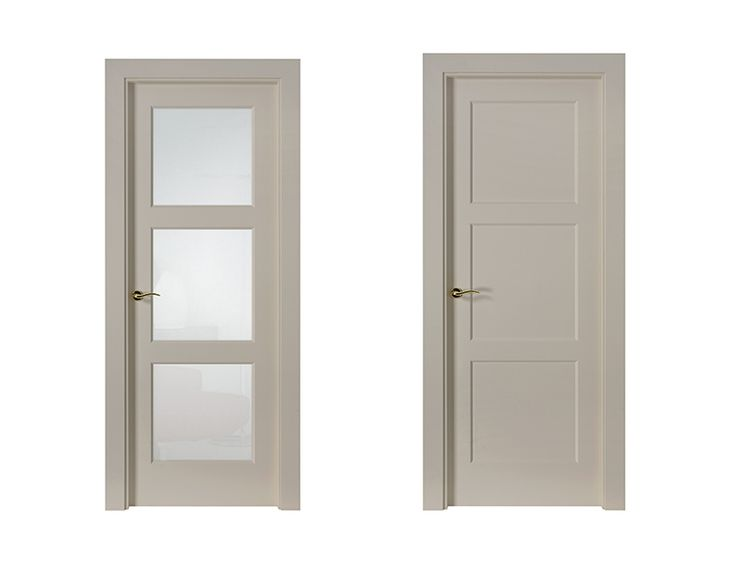 Puerta de Interior Blanca | Modelo Greco de la Serie Lacada de Puertas Castalla…