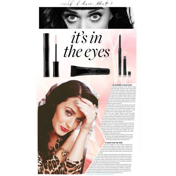 """In these eyes"" by feelseelive on Polyvore Katy Perry Mary Kay"