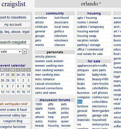 Craigslist Vancouver: How To Find Loads Of Free Stuff On Craigslist