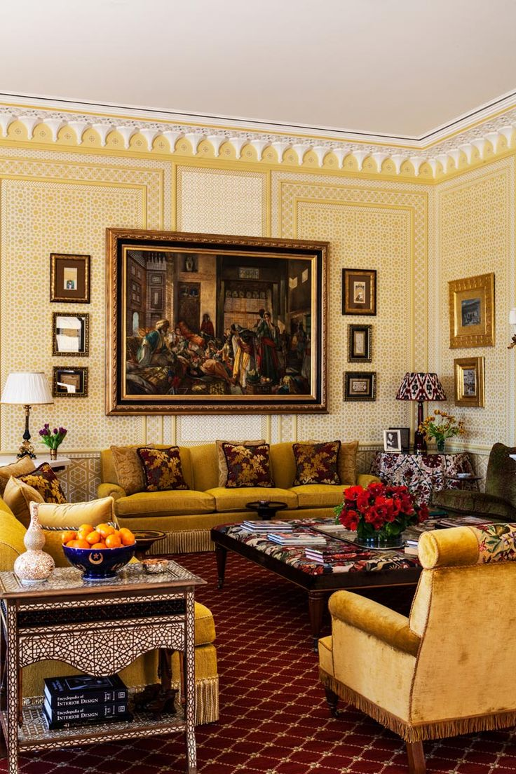 Interior decoration of drawing room - Interior Design By Alidad Britain Europe And The Middle East Drawing Roomsview
