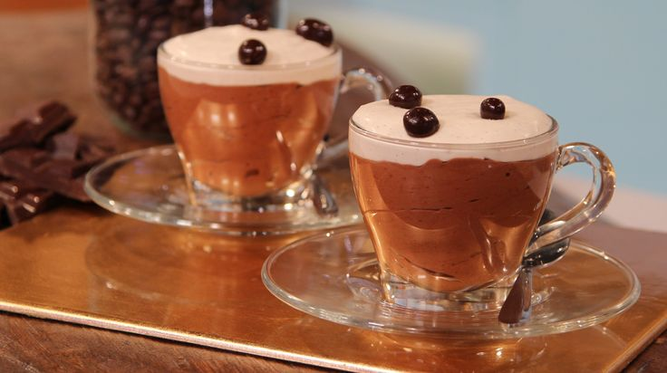 Cappuccino mousse