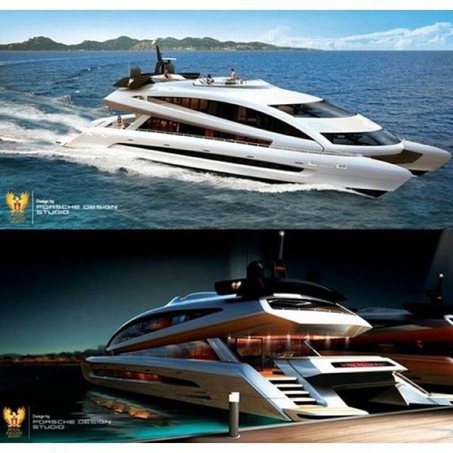 Porsche Design Mega Yacht