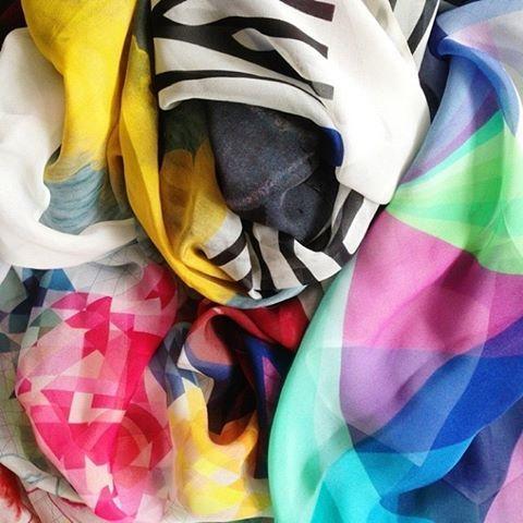 Sneak Peak! Squeak AW14 scarves! www.squeakdesign.com