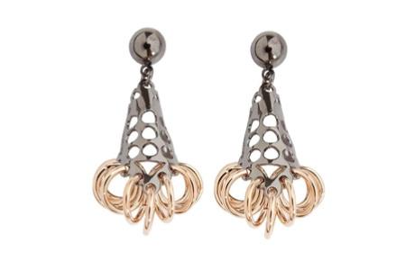 OFF THE RUNWAY Eddie Borgo Pierced Cone earrings, $175