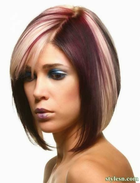 Short Hair Color And Cuts For Summer 2014