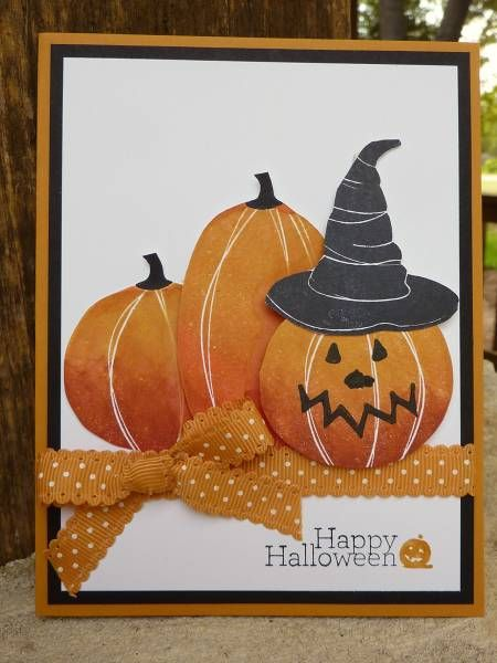 Halloween Pumpkins by junior tx - Cards and Paper Crafts at Splitcoaststampers