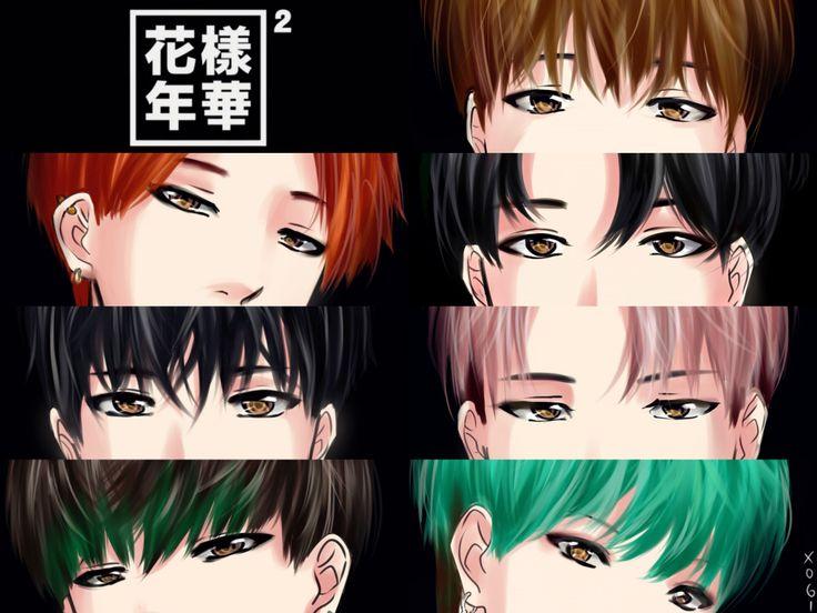 Image result for anime bts