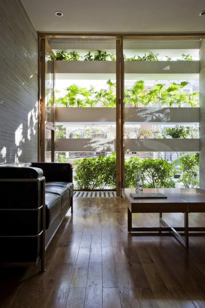 Vo Trong Nghia, Ho Chi Mingh City, Vertical Garden House, Passive Cooling System, Greenery: Remodelista