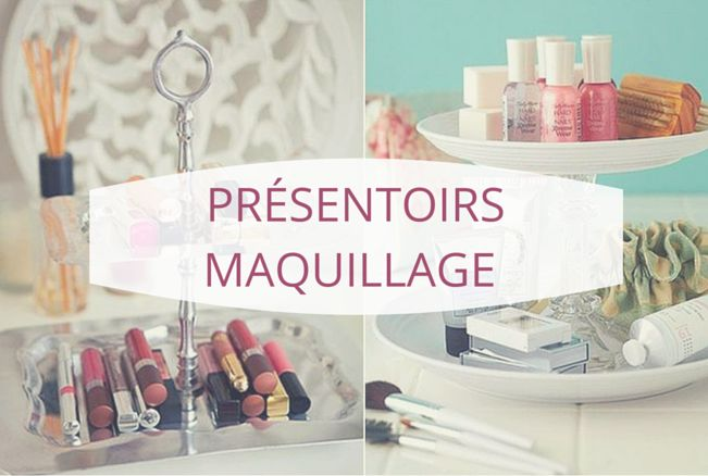 29 best images about pr sentoirs maquillage makeup - Tour de rangement maquillage ...