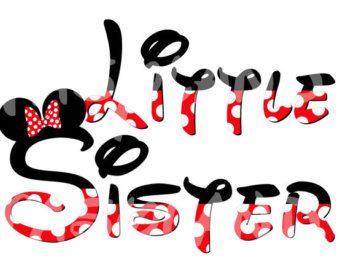 INSTANTÁNEA descargar hermana Minnie por FantasylandPrintable