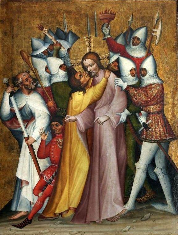 Panels from the Grudziadz Polyptych by the Master of Trebon altarpiece,c. 1390 Bohemia