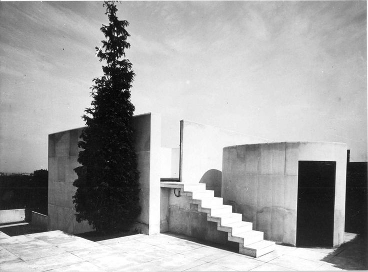 Fondation le corbusier r alisations appartement de m charles de beistegu - Appartement le corbusier ...
