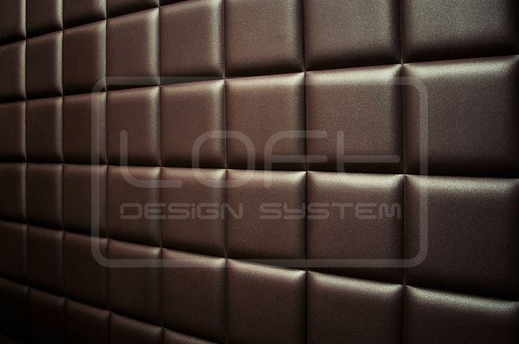 Decorative Panels 3D - Loft Design System - Model 30 - PADDING - like a chocolate <3 - three dimensional panles LOFTSYSTEM