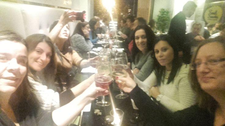 Ana Malpique na Sushi Party de Almada!