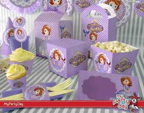 Elementos para decoraci n de fiesta princesa sofia bs 730 00 en princesa sofia - Elementos de decoracion ...