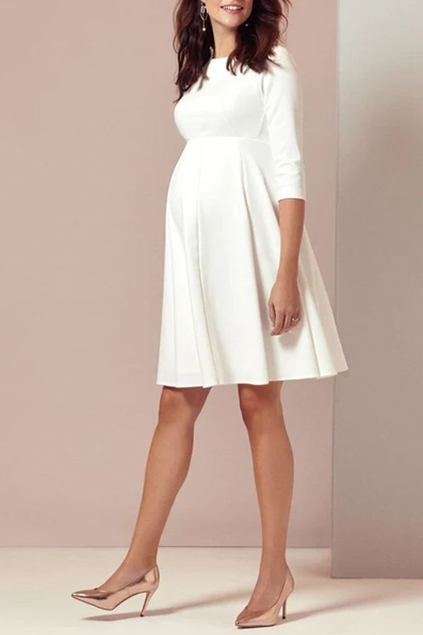 Pregnant Womens Wedding Short Dress Dresses For Pregnant Women White Short Dress Maternity Dress Outfits