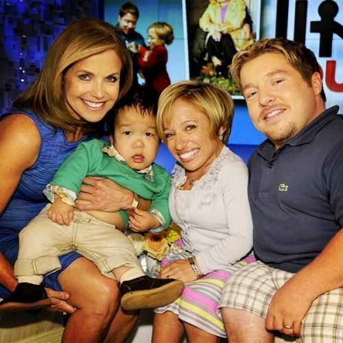 The Little Couple's Dr. Jen Arnold, 39, and Bill Klein, 38, introduced their 3-year-old son William on the Katie Couric show recently.