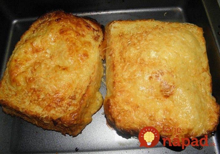 Výborný nápad na večeru z obyčajného staršieho chlebíka. Nejde však o obyčajný chlebík vo vajíčku na aký ste zvyknutí. Vyskúšajte malé vylepšenie a uvidíte, že zachutí aj tým členom rodiny, ktorý nad obyčajným chlebíkom ohŕňajú nos. :-)